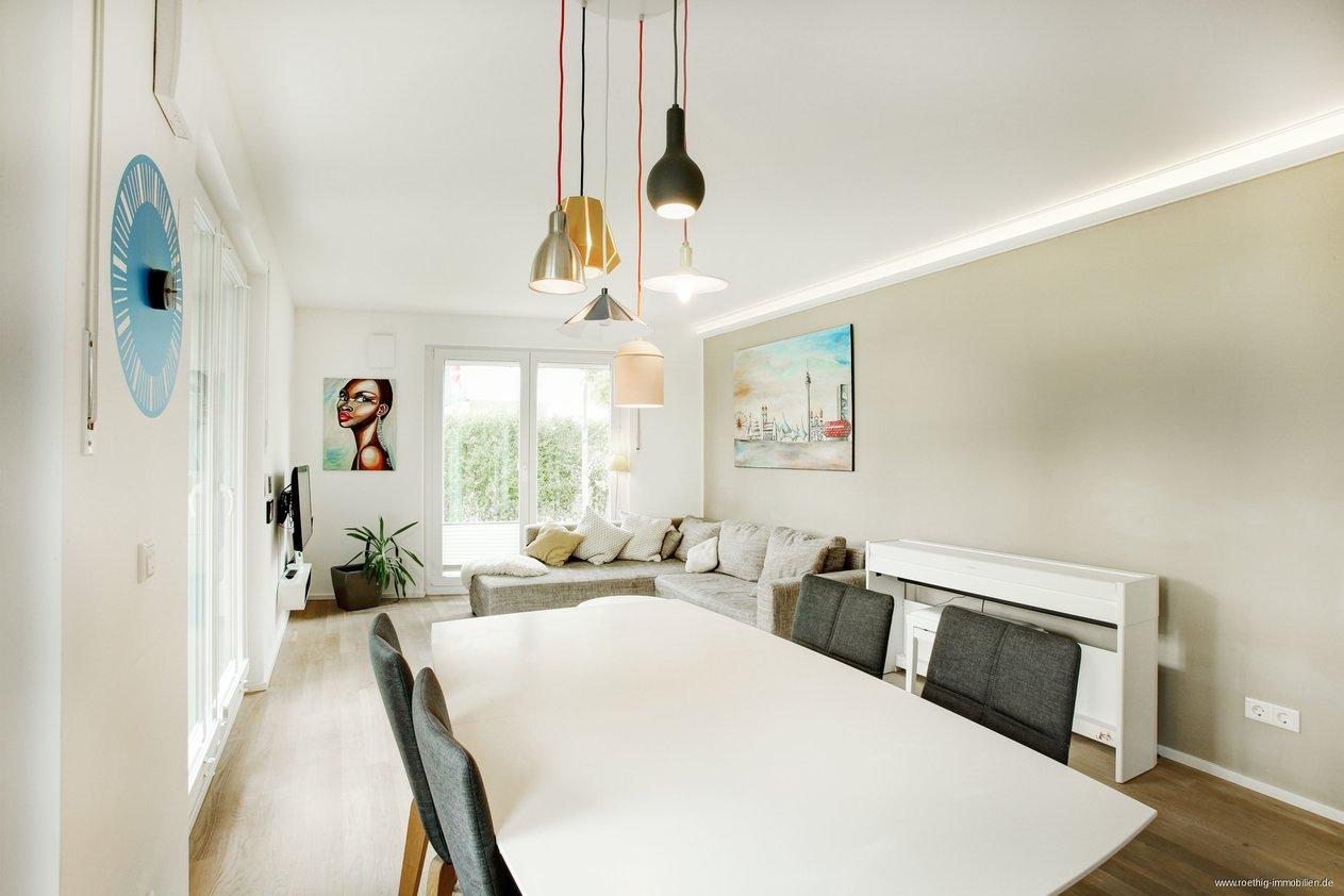 Für Eigennutzer! Traumhafte, moderne 3-Zimmer-Gartenwohnung ...