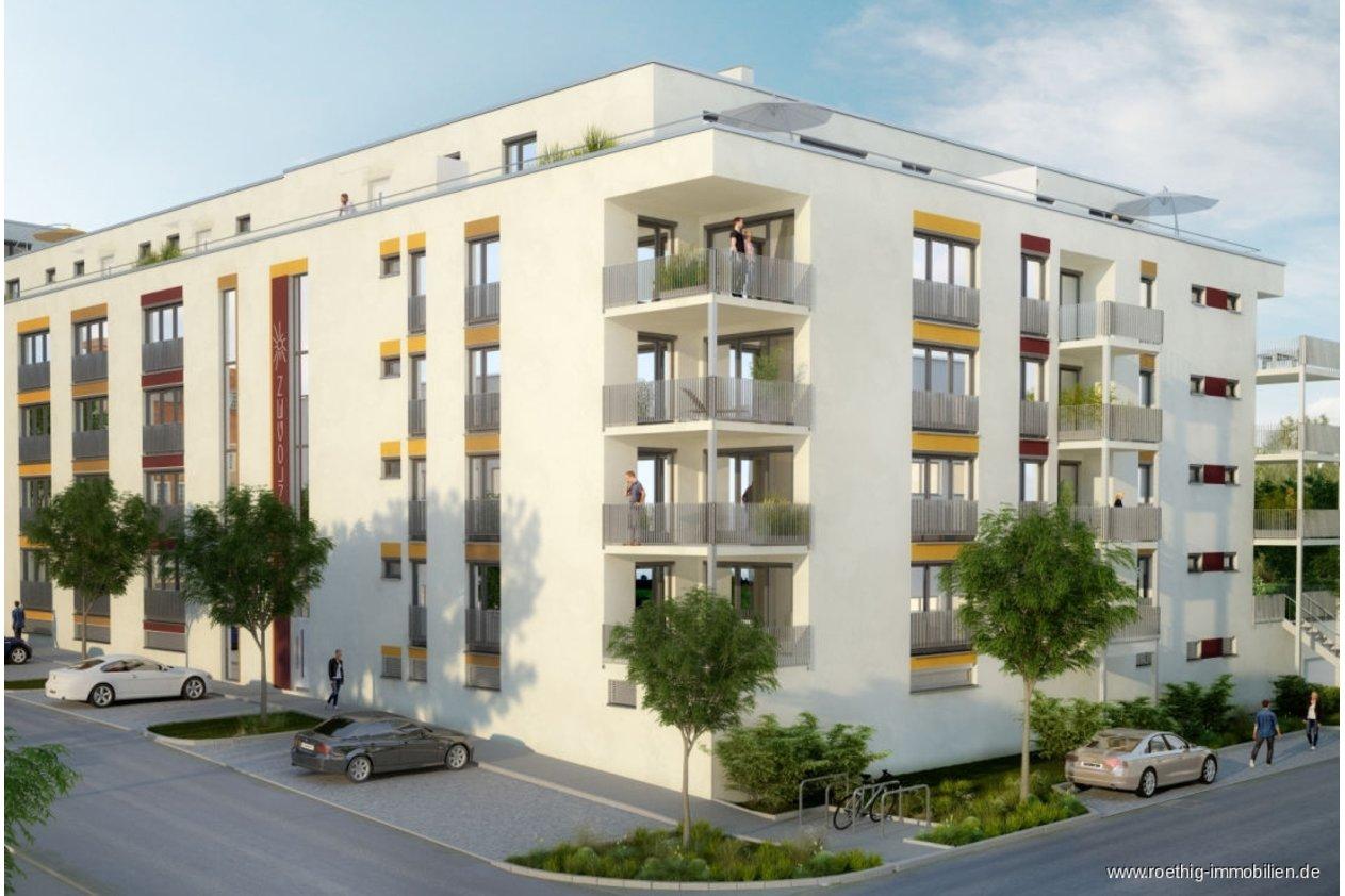 Balkon Klein Appartement : Klein aber fein! neubau micro appartement mit ca. 34 m² und großem